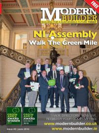 Modern Builder Magazine Cover