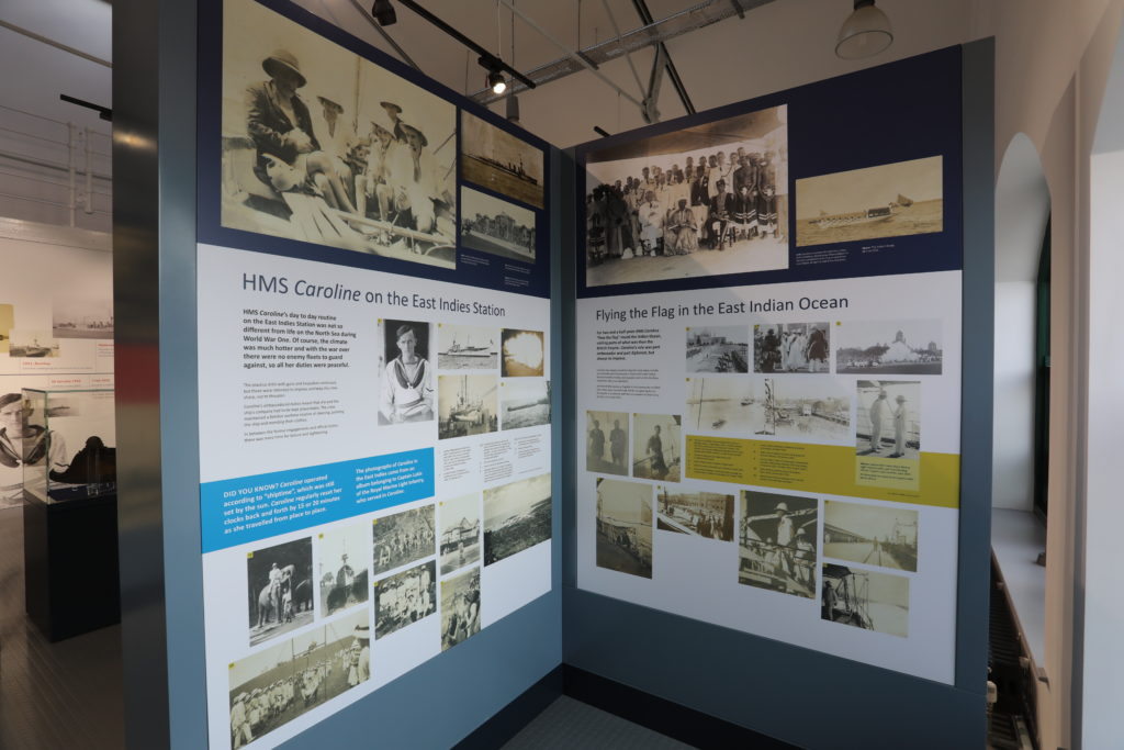 Hms Caroline Historic Buildings Tracey Brothers
